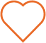 Orange heart icon.