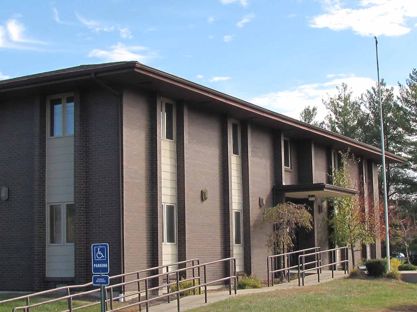 A picture of our Oregonia Road facility which houses the agency's Community Employment and Transition Division.